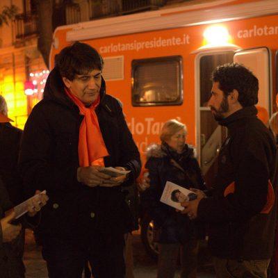 La Strada incontra i candidati alla Presidenza della Regione Calabria, primo confronto con Carlo Tansi