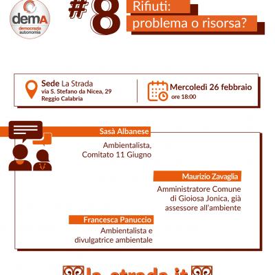 """La Strada per Pazzano Sindaco: il 26 febbraio il Nodo Tematico """"Rifiuti: problema o risorsa?"""""""