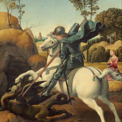 Auguri di San Giorgio, insieme per sconfiggere il drago