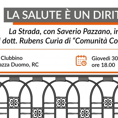 """La Strada con Saverio Pazzano incontra Comunità Competente: giovedì 30 luglio alle 18:00 """"Al Clubbino"""""""