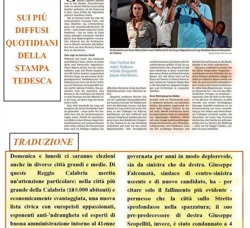 stampa estera_la strada