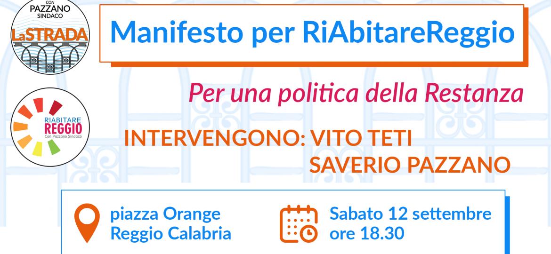 Manifesto per RiAbitare Reggio