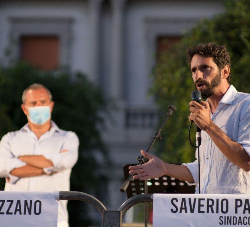 Saverio Pazzano e Luigi de Magistris